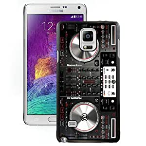 Fashionable And Durable Designed Case For Samsung Galaxy Note 4 N910A N910T N910P N910V N910R4 With Numark NS6 Disc Jockey DJ Turntable Phone Case