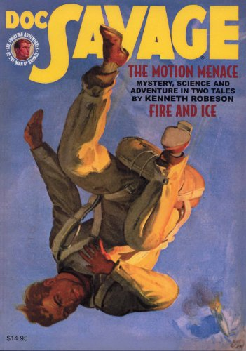 "Price comparison product image Doc Savage 74 : ""The Motion Menace"" & ""Fire and Ice"""