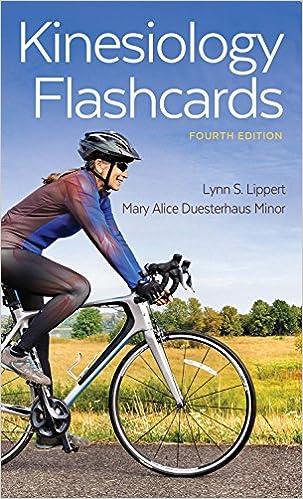 Kinesiology Flashcards 9780803658240 Medicine Health Science