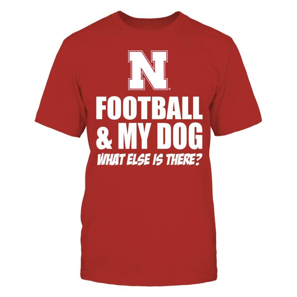 Nebraska Cornhuskers T Shirt Football Dog