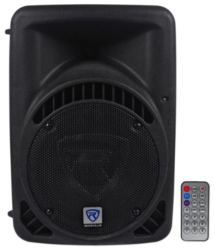 Rockville RPG8BT 8'' Inch Powered 400W DJ PA Speaker BlueTooth, USB, SD, Remote by Rockville