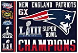 FanaticFan4Life New England Patriots Super Bowl