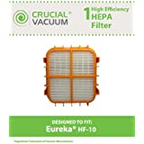 HF-10 HEPA Filter for Eureka 8800, 8850, 8900 Series Vacuums; Compare to Eureka Part Nos. 63347, 633489, 67810-2, H14017, 63358; Designed & Engineered by Think Crucial