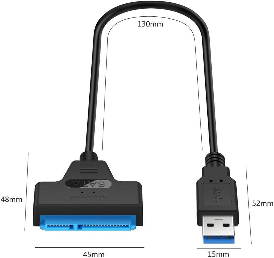 USB 3.0 a SATA Cable del Adaptador para 2.5