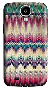 S4 Case, Samsung S4 Case, Customized Protective Samsung Galaxy S4 Hard 3D Cases - Personalized Wave Pattern Cover
