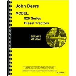John Deere 820 Tractor Service Manual (2 Cyl w/ Po