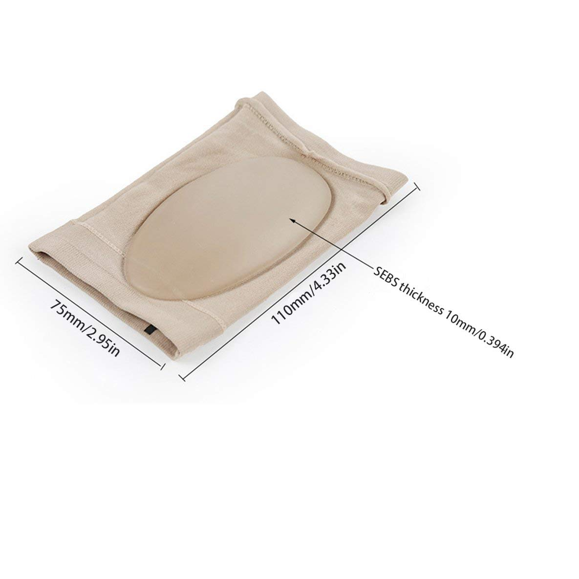 und Plantarfasziitis-Schmerzlinderung f/ür M/änner und Frauen Noradtjcca Arch Support Sleeve Weiche Gel-/Ärmel f/ür Plattfu/ß