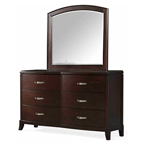 Amazon.com: Piquete casa muebles Elaine 6 cajones aparador ...