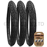 3 x BOB IRONMAN Suitable Stroller Push Chair Buggy Tire set to fit - 16