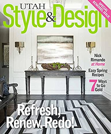Utah Style And Design.Utah Style Design Amazon Com Magazines