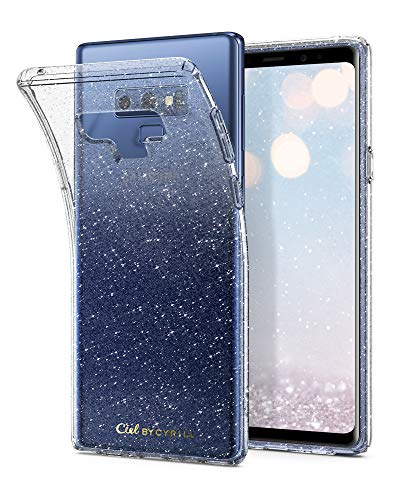 Ciel by CYRILL [Cecile Collection] Galaxy Note 9 Case with Light but Durable Flexible Glitter TPU Protection for Samsung Galaxy Note 9 (2018) - Glitter