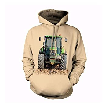 YZFZYLW Impresión 3D Tractor Personalizado Ocio Sudadera con Capucha Unisex Moda Invierno Pareja Sudadera De Manga Larga,Picture,L: Amazon.es: Deportes y ...
