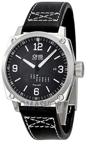 Oris BC4 Retrograde Day Black Dial Automatic Mens Watch 735-7617-4164LS (Watch Automatic Oris)