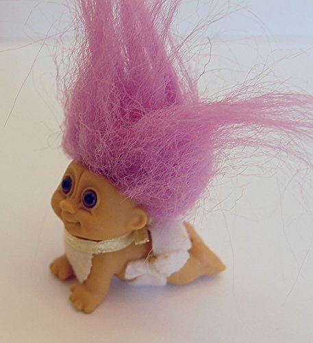 [해외]My Lucky Mini 2 Inch Crawling Baby Troll DollPurple Hair / My Lucky Mini 2 Inch Crawling Baby Troll DollPurple Hair