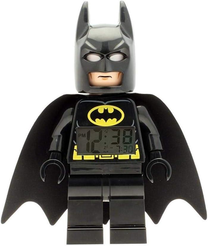LEGO Batman Light Up Super Hero Alarm Clock Black O S