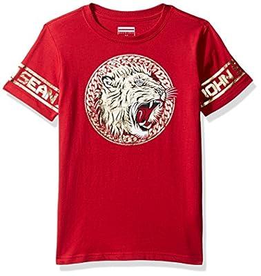 Sean John Boys' Big Lion Empire Short Sleeve Tee