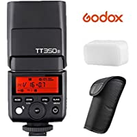 Godox TT350S 2.4G HSS 1 / 8000s TTL GN36 Flash Speedlite for Sony Mirrorless Cameras A77II A6000 A6500 RX10 Series