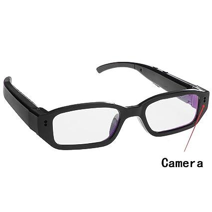 Mofek Spy Camera Occhiali, 1080P HD Telecamera nascosta Occhiali Macchina Fotografica Nascosta Eyewear Sport Videocamera DVR
