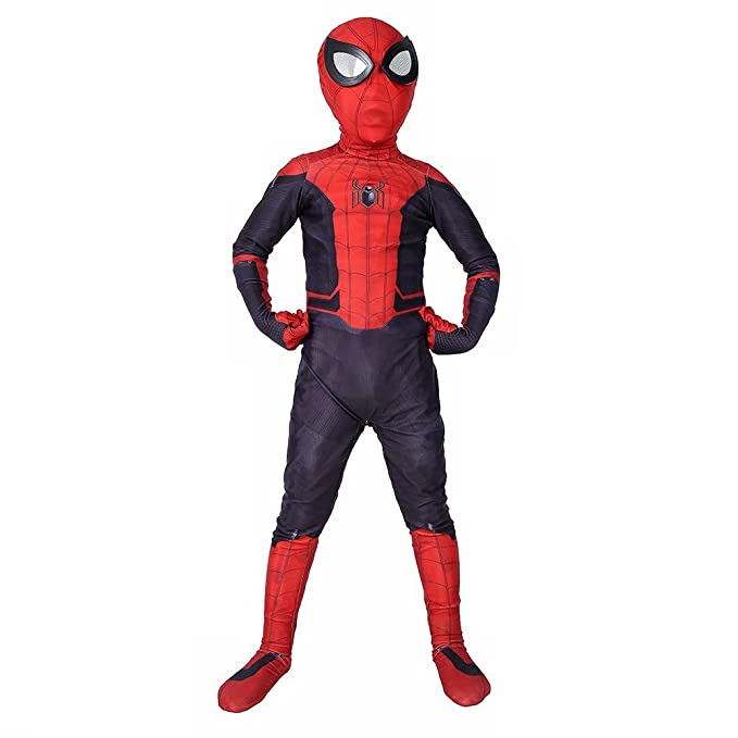 Amazon.com: Spider-man Far From Home Costume Lycra Spandex ...
