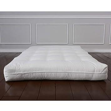 Amazon.com: De Luxe – Sofá colchón de futón: Kitchen & Dining