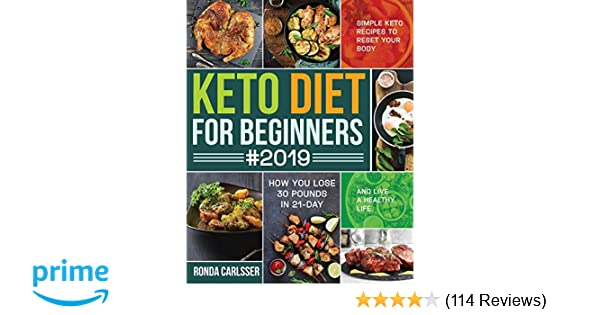 Keto Diet for Beginners #2019: Simple Keto Recipes to Reset