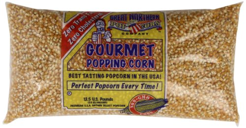 4097 Great Northern Popcorn Bulk GNP Original Yellow Gourmet Popcorn,  12.5 Pounds