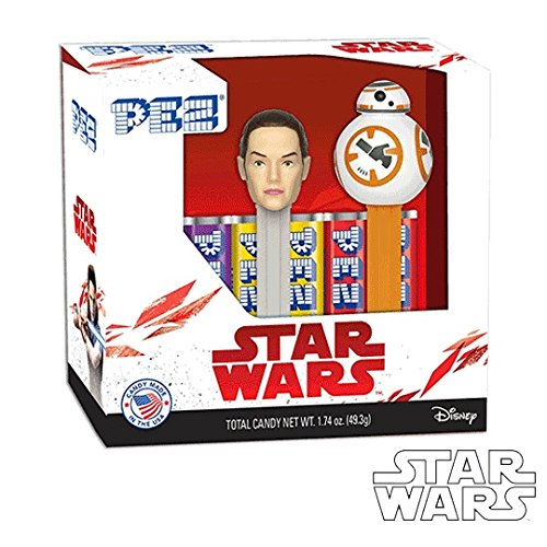 Price comparison product image PEZ Candy Star Wars Episode 8 Rey & BB - 8 Twin Pack