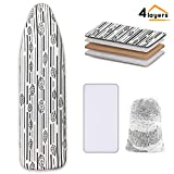 Best Ironing Board Covers - Ironing Board Cover and Pad Extra Thick Heavy Review