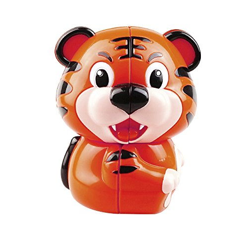Binory 1pcs Cartoon Tiger Shape Magic Cube Office Stress Reduction Education Toys Inspire Children Imagination and Curiosity Gift for Kids - Magic Shapes