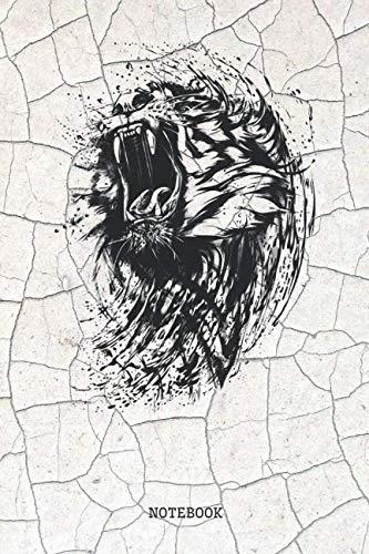 Notebook: Bengal Tiger Planner / Organizer / Lined Notebook (6