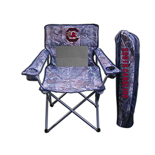 South Carolina Gamecocks NCAA Ultimate Real Tree Camo Adult Tailgate (Ultimate Tailgate Chair)