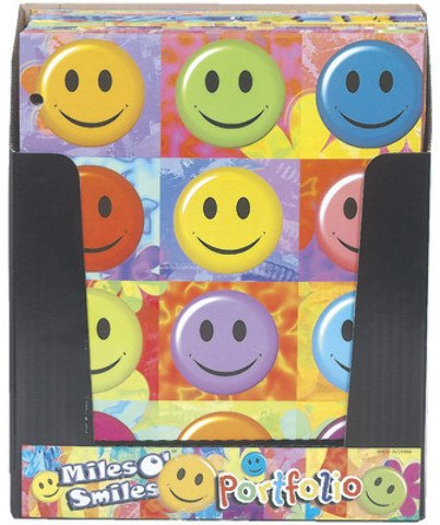 Smiles Folders - Miles O'Smiles Folder 2 pocket Case Pack 48 Computers, Electronics, Office Supplies, Computing