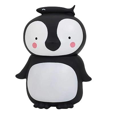 A Little Lovely Company MBPEBL02 - Hucha Pinguino, 13x16x10 cm: Bebé