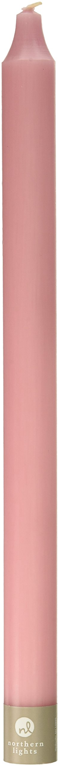 Northern Lights Candles Nlc Premium Tapers 12Pc Soft Pink 12 Inch