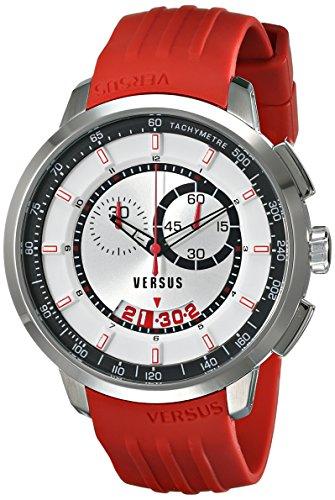 Versus by Versace Men's SGV070014 Manhattan Analog Display Quartz Red Watch