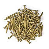 """0.6"""" Pure Brass Nails - Bag of 100"""