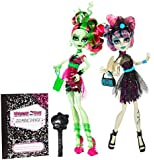 Monster High Zombie Shake Dance - Rochelle Goyle & Venus McFlytrap - Deluxe Toy Fashion Doll 2 Pack