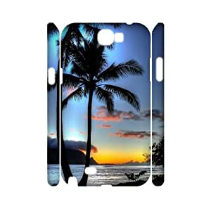 Ocean 3D-Printed ZLB614327 Customized 3D Phone Case for Samsung Galaxy Note 2 N7100