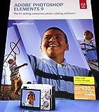 Adobe Photoshop Elements 9 - Mac/Windows Authentic (883919199313)