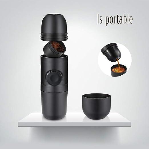 ZSN Máquina de café Espresso portátil, cafetera de Viaje compacta ...