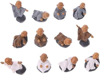 Dollhouse Doll Toy Decor Monk Figure Ornament Figurine Miniature