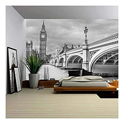 Professional Creation, Handsome Picture, London Wonderful View of Westminster Bridge with Big Ben and Houses of Parliament
