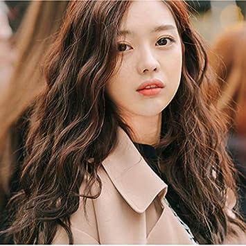 Amazon Com South Korean Women Girls Female Long Hair Wig Corn Hot