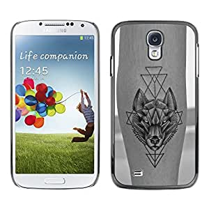 Plastic Shell Protective Case Cover || Samsung Galaxy S4 I9500 || Tattoo Ink Skin Freedom @XPTECH