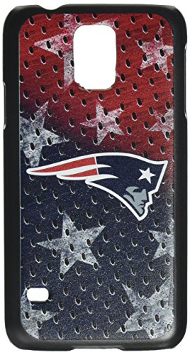 Team Pro Mark Licensed NFL New England Patriots Slim Series Protector Case for Samsung Galaxy S5 - Retail Packaging - Red/Blue/White Nfl Protector