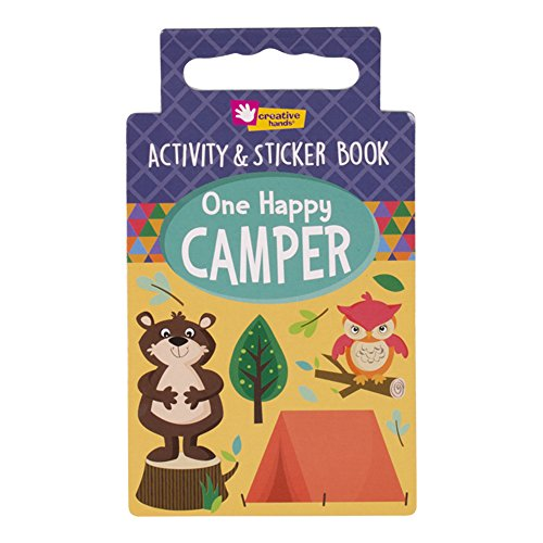 Creative Hands Activity Book One Happy Camper Arts and - List Of To Things Bring Camping