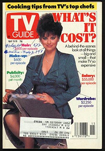 TV GUIDE 04/13/1991-TV'S PRICE TAG/TV CHEFS/H. WINKLER G