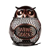 Best Home-X Wine Racks - Home-X Owl Wine Cork Holder. Wine Cork Cage. Review