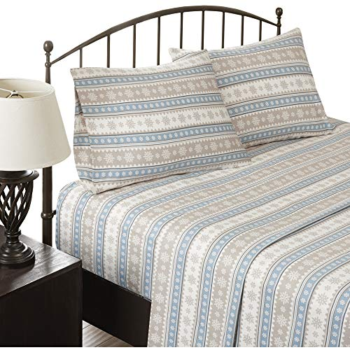 Woolrich Flannel California King Bed Sheets, Casual Lodge/Ca