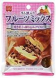 Kyoritsushokuhin rum-filled fruit mix 100gX6 bags
